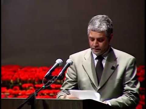 שמעון שבס - מילות פרידה בעצרת רבין