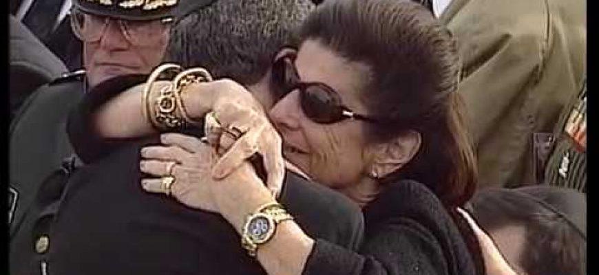 שמעון שבס – נושא דברים אחרונים בהלוויה של רבין